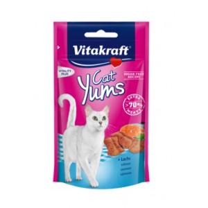 Vitakraft CAT YUMS kassimaius lõhega 40g