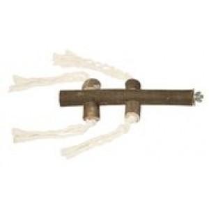 Kerbl LINNUÕRS PUIDUST nööridega 20cm