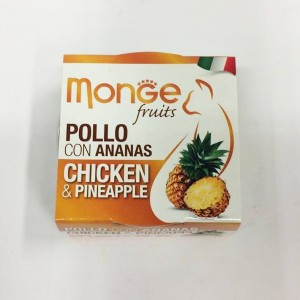 MONGE FRUIT CAT Kana/ananass 80 g