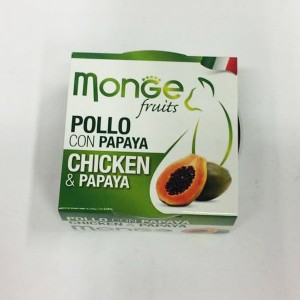 MONGE FRUIT CAT Kana/papaya 80 g