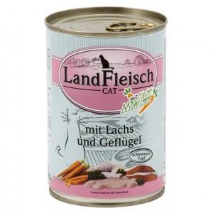 Landfleisch Kana&Lõhe&Maheköögivili
