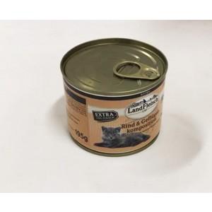 Landfleisch kitten veis+kana 195g