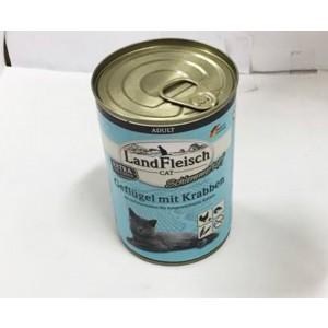 Landfleisch Cat kana + krabi 400g