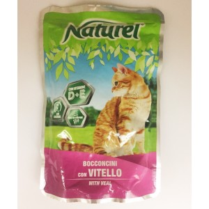 Life Cat Naturel vasikas 100g kott