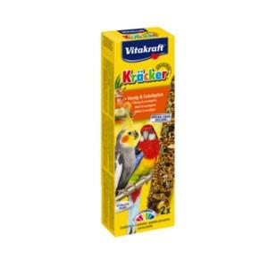 Vitakraft papagoi Kräcker mesi-eukalüpt