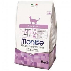 MONGE CAT Sterilized kassitoit 1,5kg