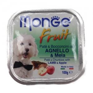 MONGE FRUIT DOG lammas/õun 100g