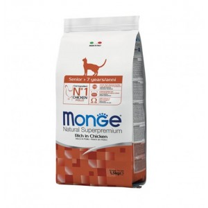 MONGE CAT SENIOR kassitoit 1,5kg