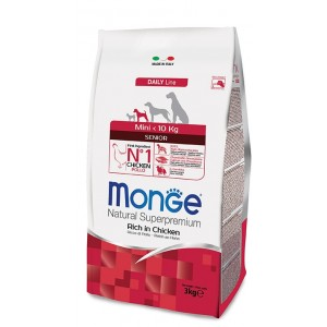 MONGE MINI DOG ADULT koeratoit kana 3kg