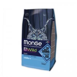 MONGE CATBWILD ANSHOOVIS kassitoit 1,5kg