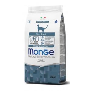 MONGE CAT MONOPROTEIIN forell 1,5kg