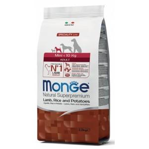 MONGE MINI AD LAMMAS&RIIS koeratoit7,5kg