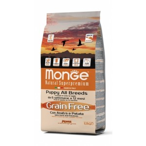 MONGE GRAIN FREE PUPPY PARDILIHAGA 2,5kg