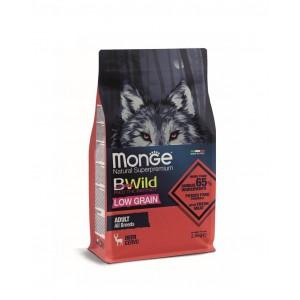 MONGE BWILD ADULT HIRVELIHAGA 2,5kg