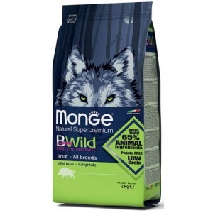 MONGE BWILD ADULT METSSEALIHAGA 2,5kg