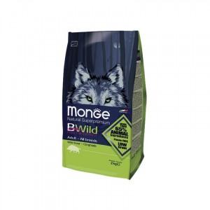 MONGE BWILD koeratoit METSSEALIHAGA 12kg