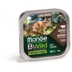 MONGE BWILD KITTEN buffalo 100g