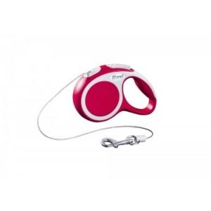 Nobby FLEXI VARIO XS punane 3m nöör