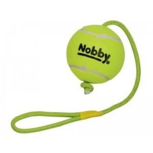 Nobby lelu TENNISPALL nööriga 12,5/70cm
