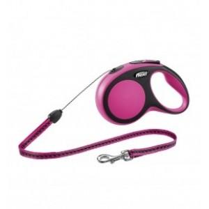 NOBBY Flexi New COMFORT S roosa nöör 8m