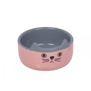 Nobby CAT FACE KAUSS roosa keraam.¤13cm