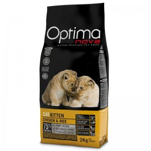 OPTIMANOVA CAT KITTEN kassipojatoit 2kg