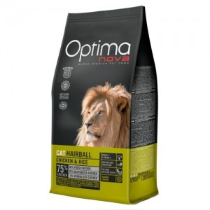 OPTIMANOVA CAT HAIRBALL kassitoit 2kg