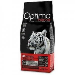 OPTIMANOVA CAT MATURE kassitoit 400g