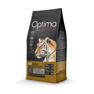 OPTIMANOVA CAT GRAIN FREE Chicken 400g