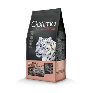 OPTIMANOVA CAT Salmon&Potato GF 2kg