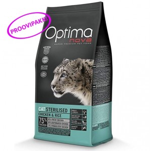 OPTIMANOVA CAT STERILISED proov 70g