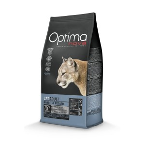 OPTIMANOVA CAT GRAIN FREE Rabbit 400g