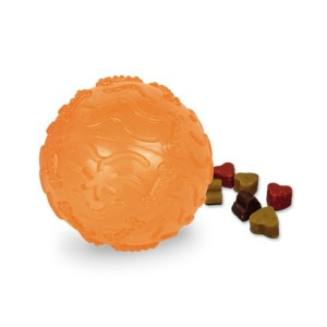 Nobby Koeralelu TPR TOIDUPALL oranz