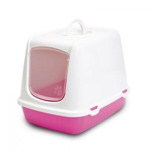 Savic Liivakast OSCAR filtr.valge/roosa