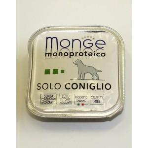 MONGE Solo DOG Küülik 150g