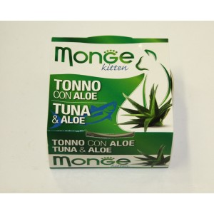 MONGE FRUIT CAT Tuunikala&Aaloe 80 g