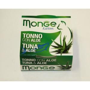 MONGE FRUIT CAT Tuunikala&Aaloe 80 g