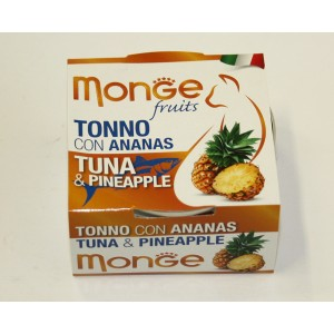 MONGE FRUIT CAT Tuunikala&Ananass 80 g