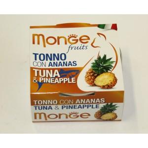 MONGE FRUIT CAT Tuunikala&Ananass 80 g