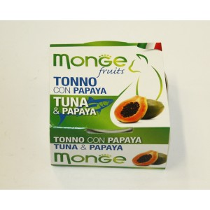 MONGE FRUIT CAT Tuunikala&Papaya 80 g