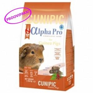 ALPHA PRO GUINEA PIG toidu proovipakk