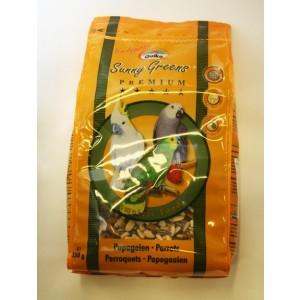 QUIKO SUNNY GREEN parakiitide toit 850g