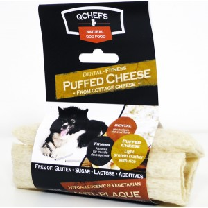Qchefs Dental Fitness Cheese Puff maius