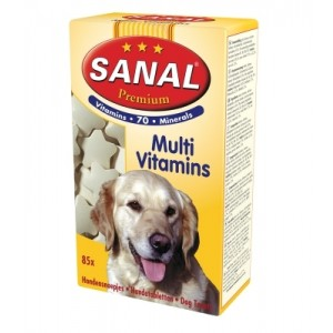 Sanal DOG PREMIUM MULTIVITAMIINID 85g