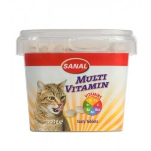 Sanal CAT MULTIVITAMIINID 100g