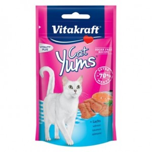 Vitakraft CAT YUMS lõhe+Omega 3 40g