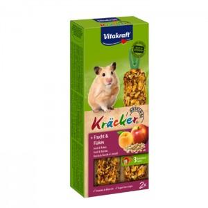 Vitakraft HAMSTRI Kräcker puuviljaga112g