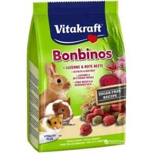 Vitakraft BOMBINOSmaius peet+lutsern 40g