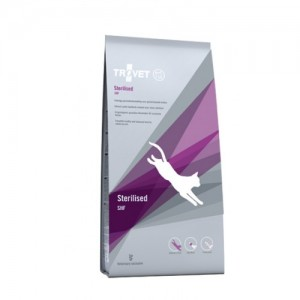 TROVET STERILISED CAT kassitoit 3kg