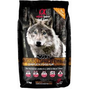 AlphaSpirit DOG SEMIMOIST MULTI 3kg
